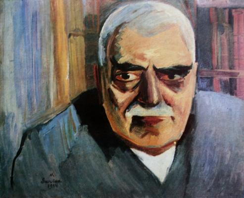 Мартирос Сергеевич Сарьян. Портрет архитектора Тороса Тараманяна