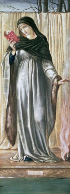 Edward Coley Burne-Jones. Seasons. Winter