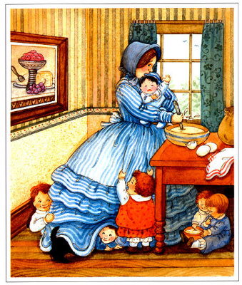 Мэри Де Нил Морган. Мать с детьми