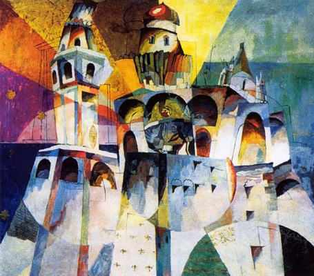 Aristarkh Vasilyevich Lentulov. Bells (The Bell Tower Of Ivan The Great)