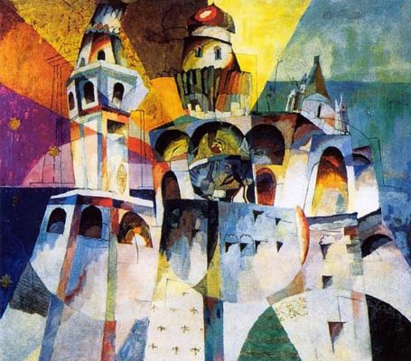 Aristarkh Vasilyevich Lentulov. Bells (The Bell Tower Of Ivan The Great)