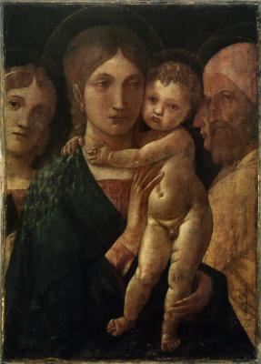 Андреа Мантенья. Мадонна с Младенцем