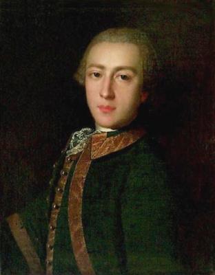 Пьетро Ротари. Портрет неизвестного в гвардейском мундире.