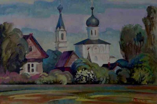 Vasily Ivanovich Ptyukhin. Orsha