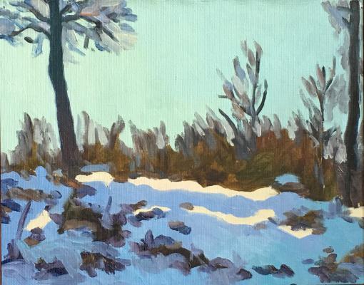 Konstantin Ekonomov. Winter light