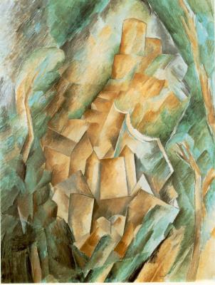 Жорж Брак. Замок в Ла Рош Гюйон