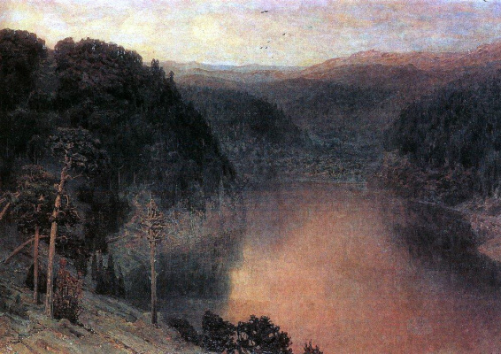 Apollinarius Mikhailovich Vasnetsov. Mountain lake