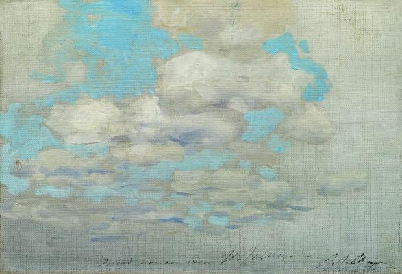 Isaac Levitan. Clouds
