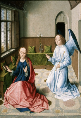 Дирк Баутс. Благовещение. 1470-1475