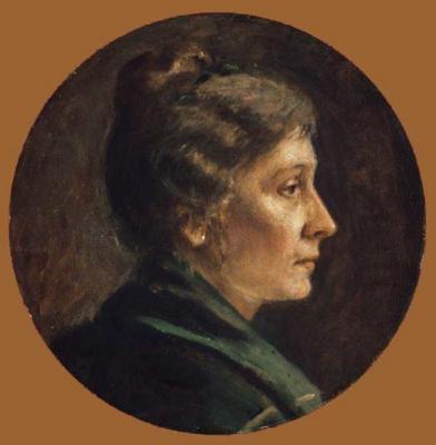 Евгений Иосифович Буковецкий. Portrait of a Woman