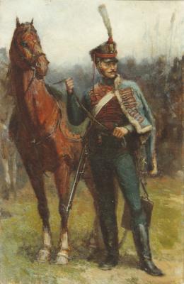 Aleksandr Chagadaev. Hussar