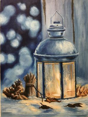 Svetlana Ivanova. New year lantern