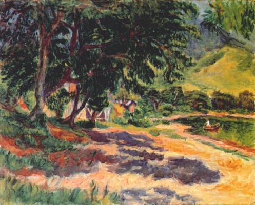 Умехара Рюзабуро. Озеро