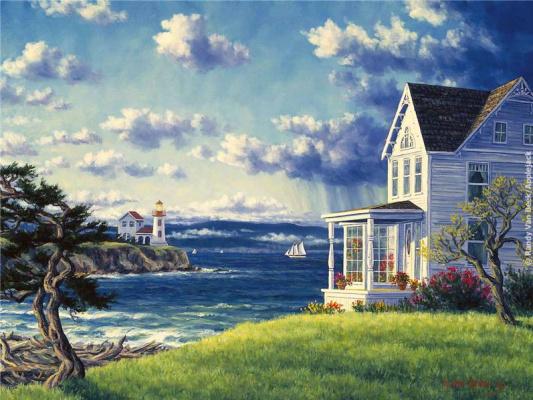 Ронди Ван биг. У моря