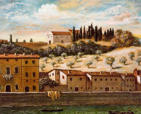 Giorgio de Chirico. Florence