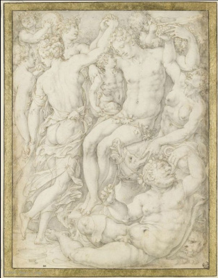 Giorgio Vasari. Orgy