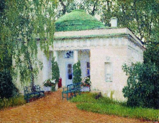 Igor Grabar. Pavilion in Kuzminki