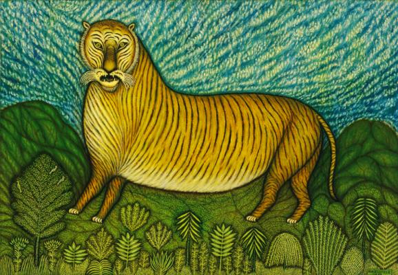 Morris Hirschfield. Tiger