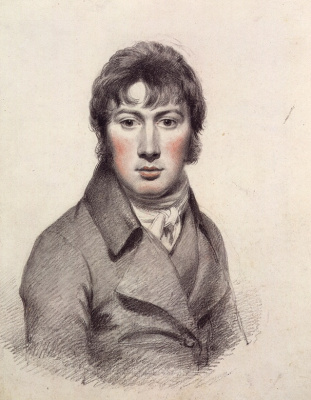 John Constable. Self Portrait By John Constable