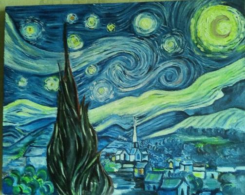 Рабига Сагитова. Копия Звездная ночь