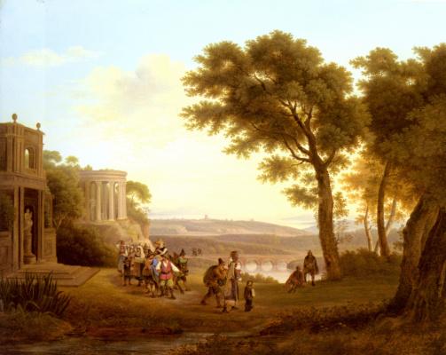 Йозеф Ребелл. Пейзаж