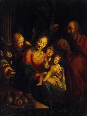Ганс фон Ахен. Святое Семейство