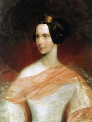 Karl Pavlovich Bryullov. Portrait of Empress Alexandra Feodorovna