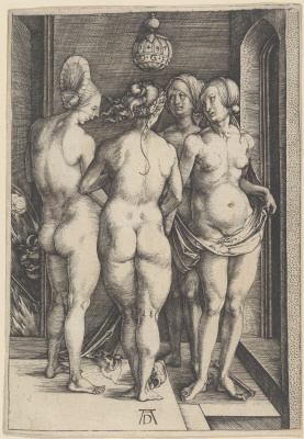 Albrecht Durer. Four witches