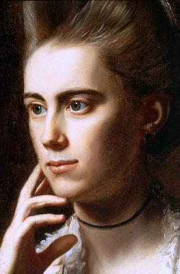 Джон Синглтон Копли. Портрет миссис Ричард Скиннер (Дороти Венделл). Фрагмент