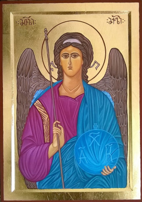 Badri bukia. Icon of the archangel Michael