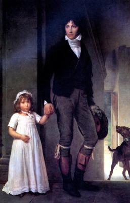 Франсуа Паскаль Симон Жерар. Жан Батист Изабэ с дочерью