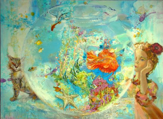 Evgeny Anatoleviz Babushkin. Aquarium