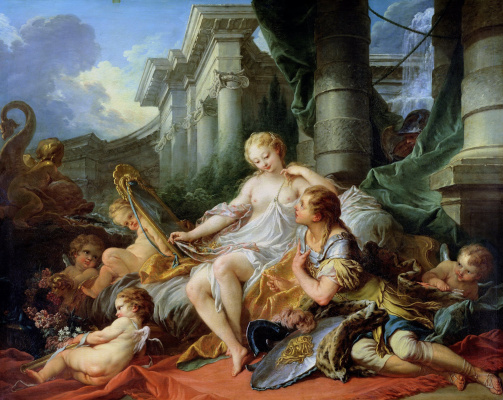 Francois Boucher. Rinaldo and Armida