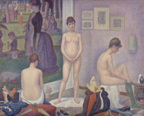 Georges Seurat. A model