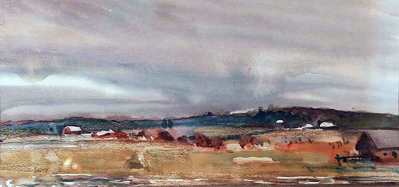 Alexander Alexandrovich Deineka. The suburban landscape