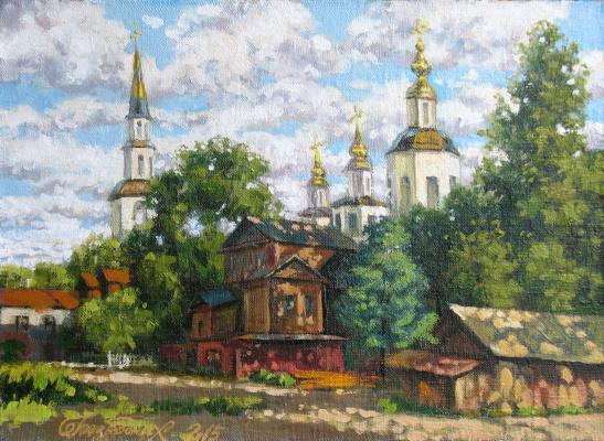 Alexander Nikolaevich Bezrodny. Great Ustyug. Evening