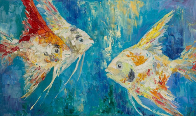 Tanya Vasilenko. Colors of the sea