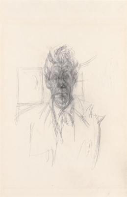 Альберто Джакометти. Автопортрет