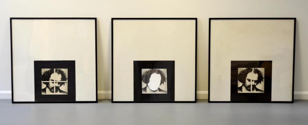 Rashid Arain. Art history, white diamond and cross
