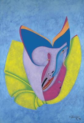 Михаил Шемякин. Eskimo Mask. 1982