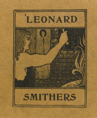Aubrey Beardsley. Leonard Smithers (cover)