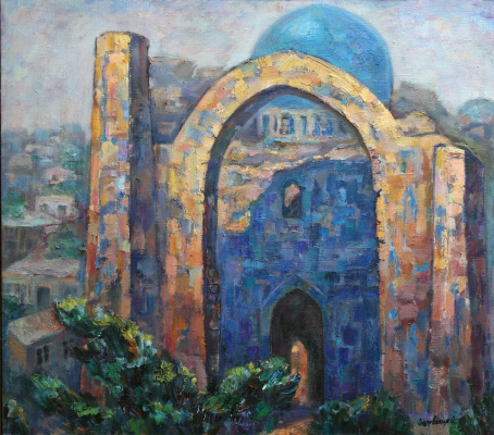 Oksana Viktorovna Zalevskaya. Bibi-Khanym mosque.