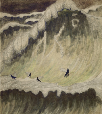 Mikalojus Konstantinas Ciurlionis. Sonata of the sea. The final