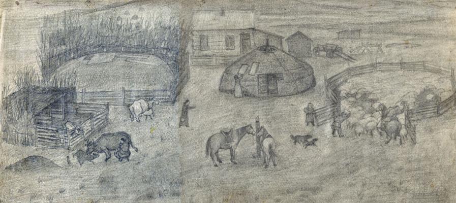 Balto Lyksokov. Life in the steppe