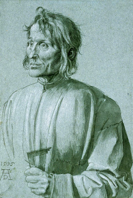 Albrecht Durer. Portrait of the architect Hieronymus of Augsburg