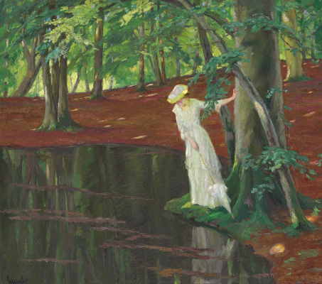 Edward Cucouel. The mystery of the forest. 1910