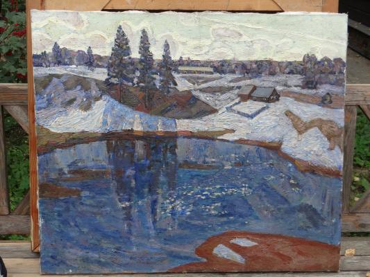Александр Григорьевич Савичев. Река
