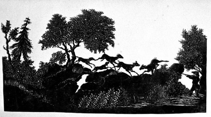 Сцена охоты
