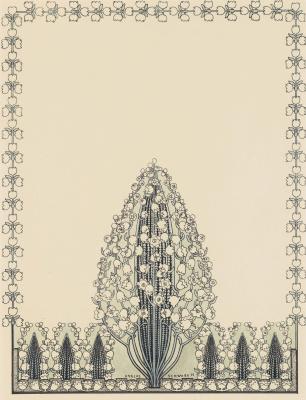 Карлос Швабе. Иллюстрация. 1892
