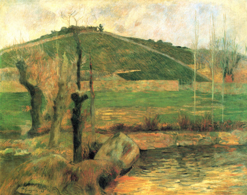 Paul Gauguin. View on Sainte Marguerite in the vicinity of Pont-Aven